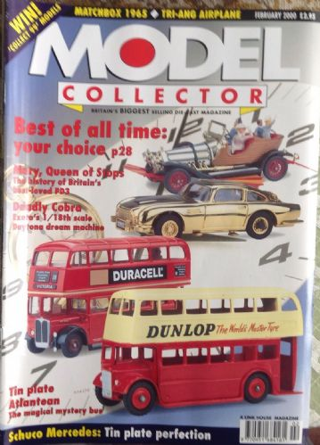 ORIGINAL MODEL COLLECTOR MAGAZINE February 2000